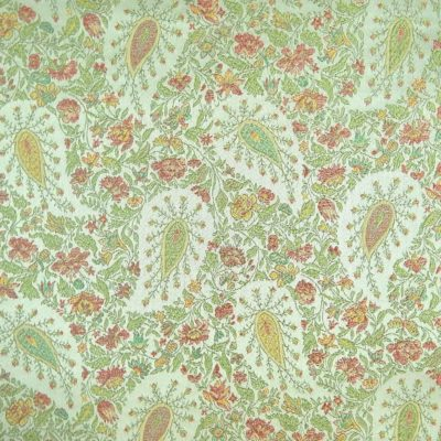 Discount Fabric Paisley Prince Sherbet
