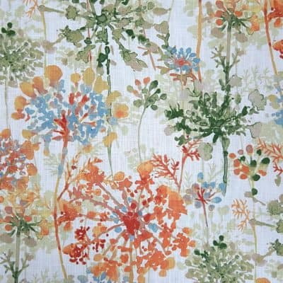 Mill Creek Hatherly Orange Blossom Fabric
