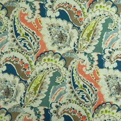 Hamilton Fabrics Aretha Coral