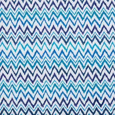 Lilly Pulitzer Chev On It Worth Blue Designer Fabric