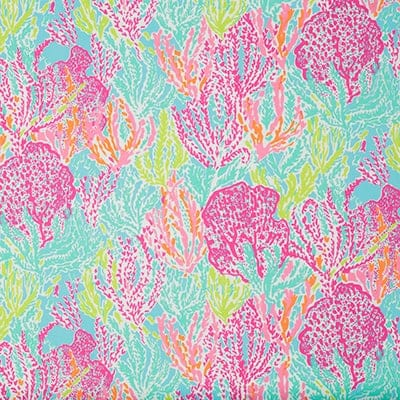Lilly Pulitzer Let's Cha Cha Tiki Shorley Designer Fabric