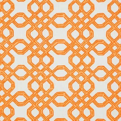 Lilly Pulitzer Well Connected Clementine Designer Fabric
