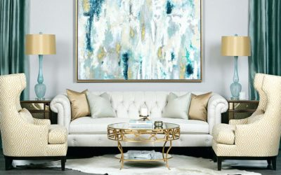 Gold Fabric Home Decor Color Trends