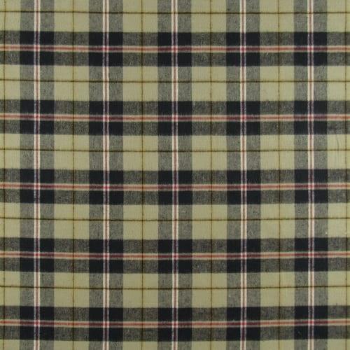 Dublin Blackwatch Cotton Plaid Fabric