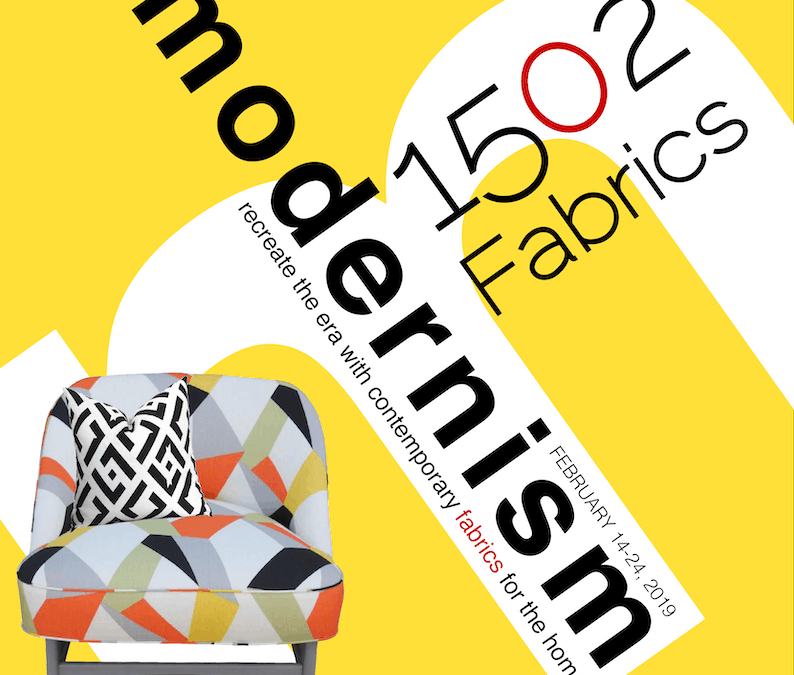 Contemporary Fabrics for Modernism Week 2019