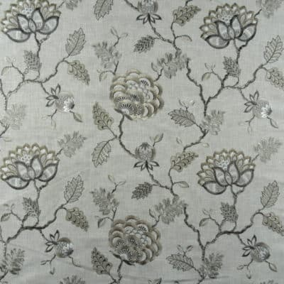 Covington Wheaton 145 Travertine Floral Fabric