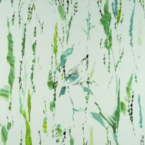 Annie Selke Tweet Style Green Fabric