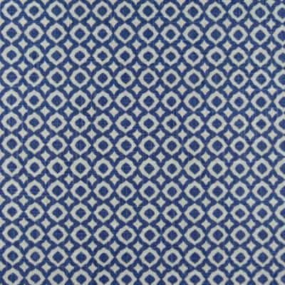 Macon Delft Cotton Linen Blend Fabric